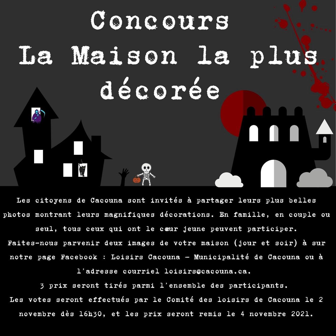 Halloween 2021 - Concours Maison  (Auteur : Cédric Soucy)