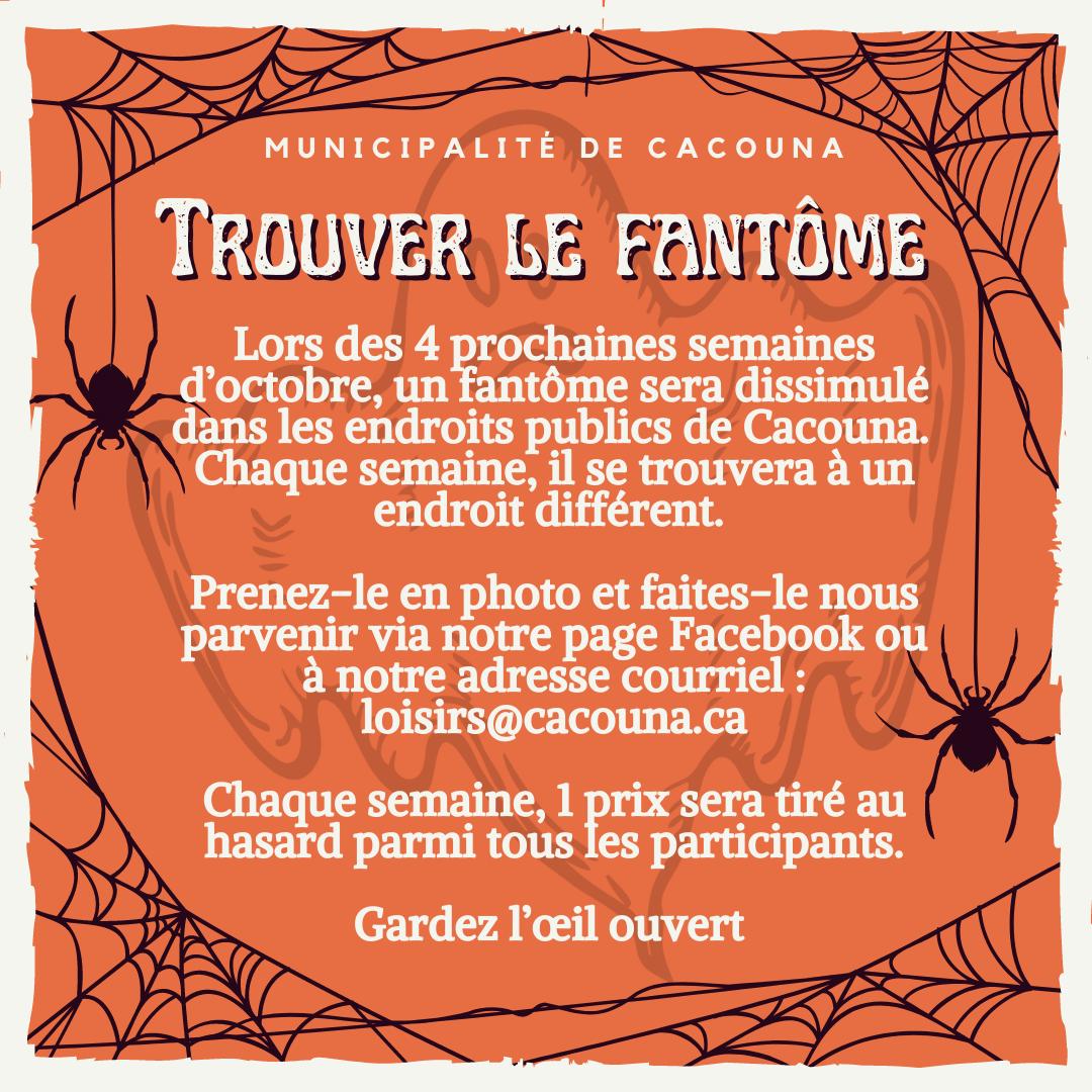 Halloween 2021 - Fantôme (Auteur : Cédric Soucy)